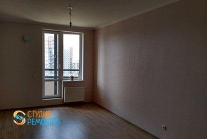 Капремонт жилой комнаты в 4-х комнатной квартире 93 м2 под ключ