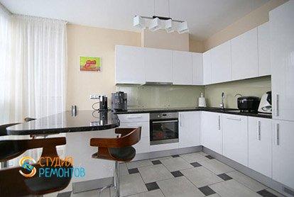 Ремонт кухни в 4-х комнатной квартире 87 м2 под ключ