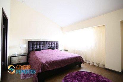 Ремонт спальни в 4-х комнатной квартире 87 м2 под ключ