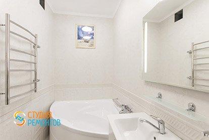 Евроремонт ванной в 5 комнатной квартире 105 кв.м. под ключ