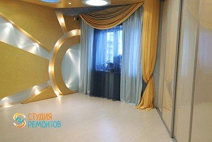 Евроремонт спальни в 5 комнатной в новостройке 106 кв.м.