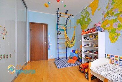 Евроремонт детской в 5-комнатной квартире 95 кв.м.