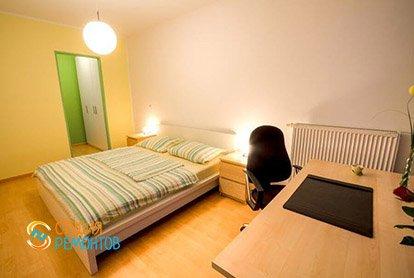 Евроремонт спальни в 5-комнатной квартире 95 кв.м.