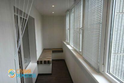Капитальный ремонт балкона 6 кв.м.