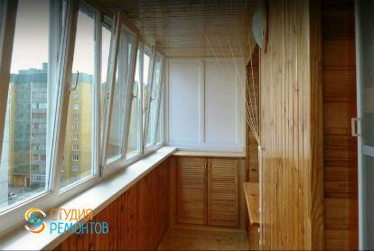 Ремонт балкона под ключ 4,5 кв.м.