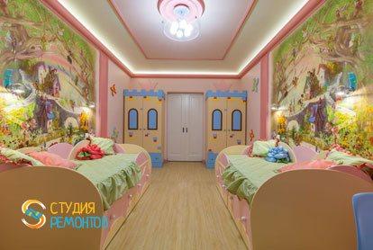 Евроремонт детской комнаты для девочки 10 кв.м.
