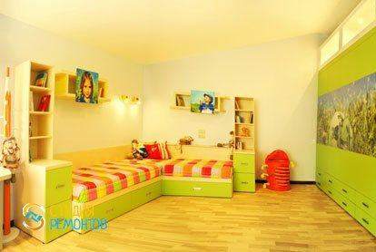Евроремонт детской комнаты для девочки 12 кв.м.
