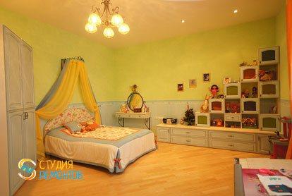 Евроремонт детской комнаты для девочки 15 кв.м.