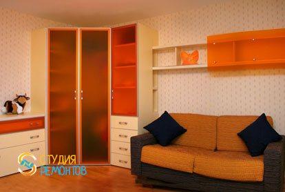 Капитальный ремонт детской комнаты для мальчика 12 кв.м.