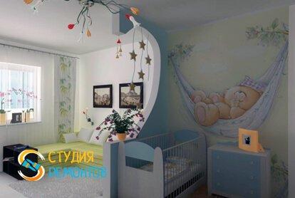 Капитальный ремонт детской комнаты 11 кв.м.