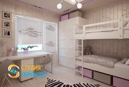 Капитальный ремонт детской комнаты 8 кв.м.