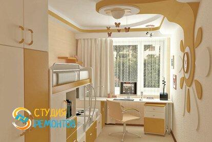 Капитальный ремонт детской комнаты 9 кв.м.