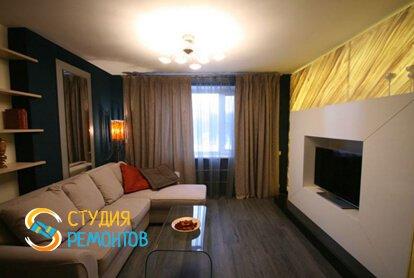 Евроремонт гостиной 14 м2