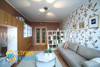 Капитальный ремонт гостиной 13 кв.м.
