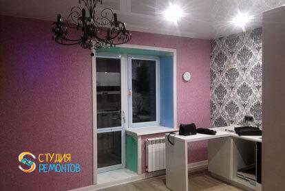 Капитальный ремонт кухни в хрущевке 42 кв.м. фото 1