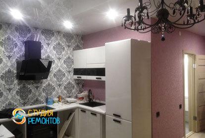 Капитальный ремонт кухни в хрущевке 42 кв.м. фото 2