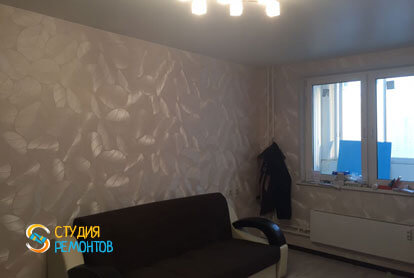 Косметический ремонт комнаты в хрущевке 40 кв.м. фото 2