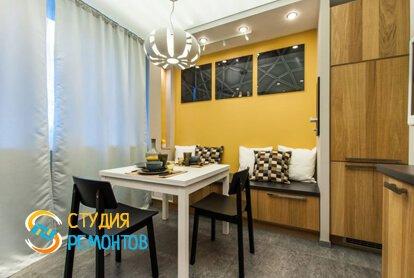 Евроремонт кухонной комнаты 10 м2
