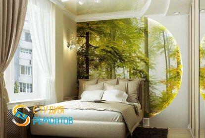 Евроремонт спальной комнаты 10 кв.м.