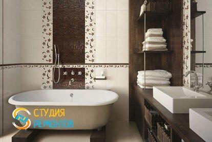 Капитальный ремонт ванной комнаты 10 кв.м.