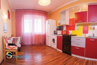 Капитальный ремонт кухни 11 кв.м.