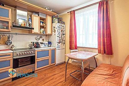 Ремонт кухни под ключ 11 кв.м.