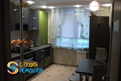 Капитальный ремонт кухонной комнаты 12 кв.м.