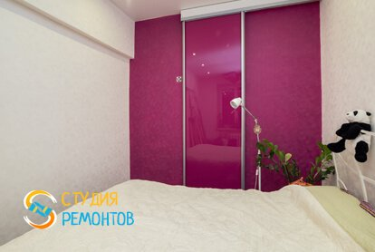 Капитальный ремонт спальной комнаты 12 м2