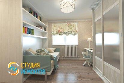Капитальный ремонт жилой комнаты 12 м2