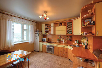 Капитальный ремонт кухни 13 кв.м.