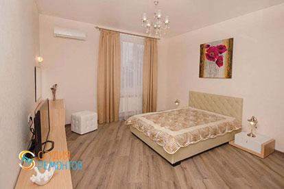 Косметический ремонт спальни 13 кв.м.