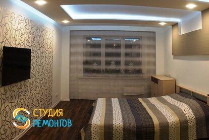 Евроремонт спальной комнаты 15 кв.м.