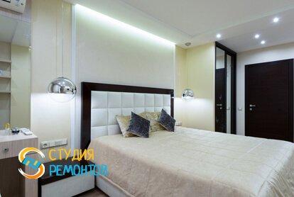 Евроремонт спальной комнаты 16 м2