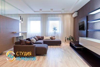 Евроремонт комнаты 18 м2