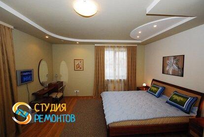 Евроремонт спальной комнаты 18 кв.м.