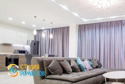 Евроремонт гостиной комнаты 20 м2