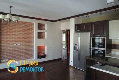 Евроремонт кухонной комнаты 20 кв.м.