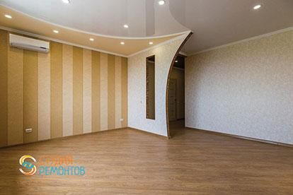 Евроремонт комнаты 22 кв.м.