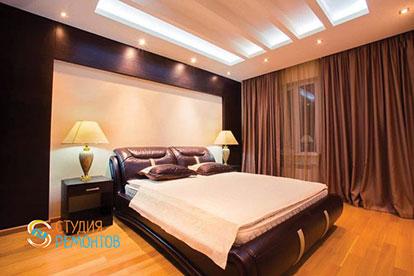 Евроремонт спальни 22 кв.м.