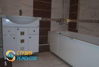 Эконом ремонт ванной 3 кв.м.