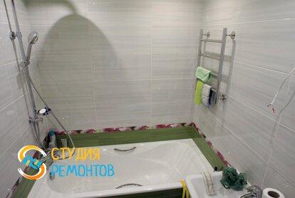 Капитальный ремонт ванной комнаты 3 кв.м.
