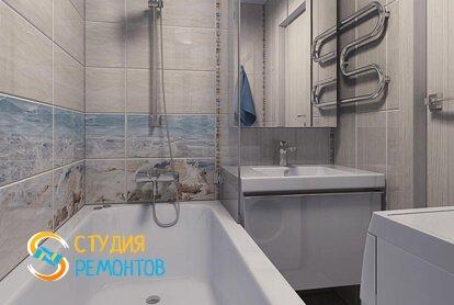 Капитальный ремонт ванной 3 м2 фото-1
