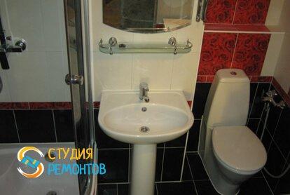 Комплексный ремонт санузла 3 кв.м.