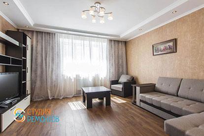Капитальный ремонт гостиной 30 кв.м.