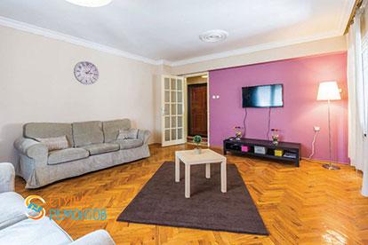 Ремонт гостиной под ключ 30 кв.м.