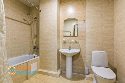 Ремонт ванной под ключ 5 кв.м.