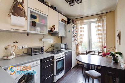 Капитальный ремонт кухни 7 кв.м.