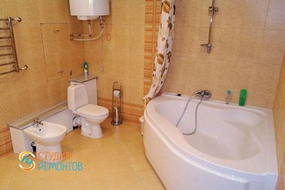 Капитальный ремонт ванной 7 кв.м.