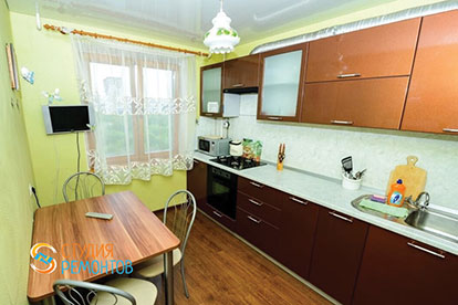 Косметический ремонт кухни 7 кв.м.