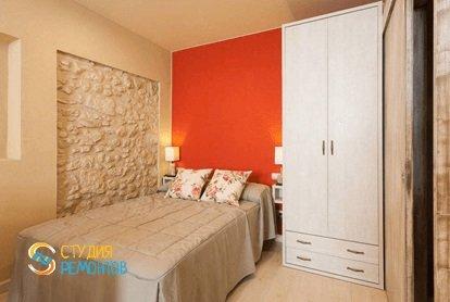 Евроремонт спальной комнаты 9 кв.м.